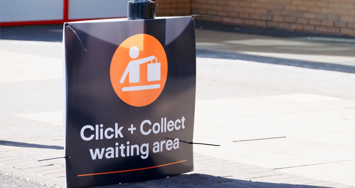 6.4% of German ecommerce generated via click & collect