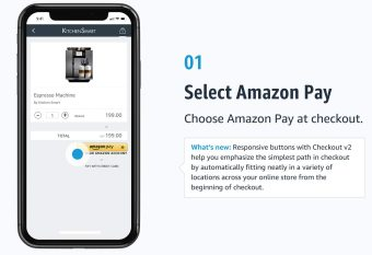 Amazon Pay Introduces Checkout v2